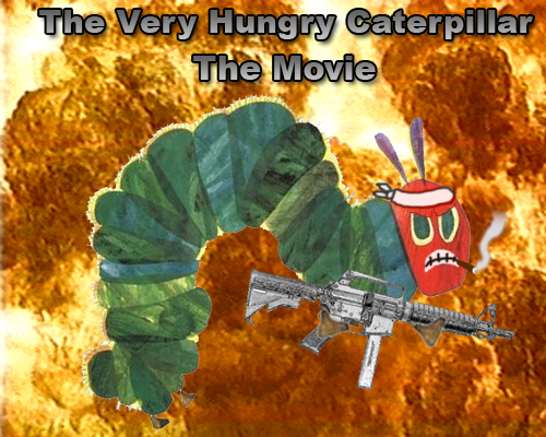 The Very Hungry Caterpillar movie poster