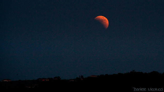 Photo:Red Moon Rising (explore 2011-06-15) By:Daniele Nicolucci photography