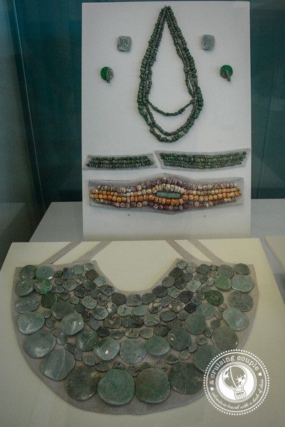 Finding Art and History in Cancun - Mayan Museum Jewelry