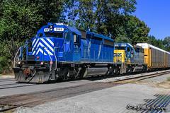 CEFX 3163   EMD SD40-2   CSX Memphis Terminal Subdivision