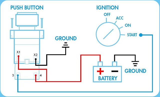 Push Button Ignition Wiring Diagram