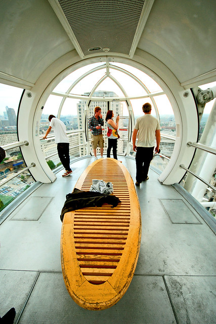 Capsule Interior - London Eye