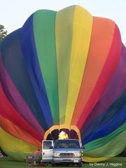 Hot Air Balloons & Airplanes
