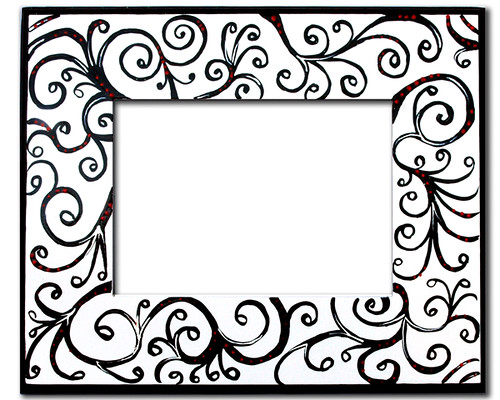Black Scroll Frame - a photo on Flickriver