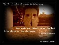The Cost of  Free Speech by was_bedeutet_jemanden