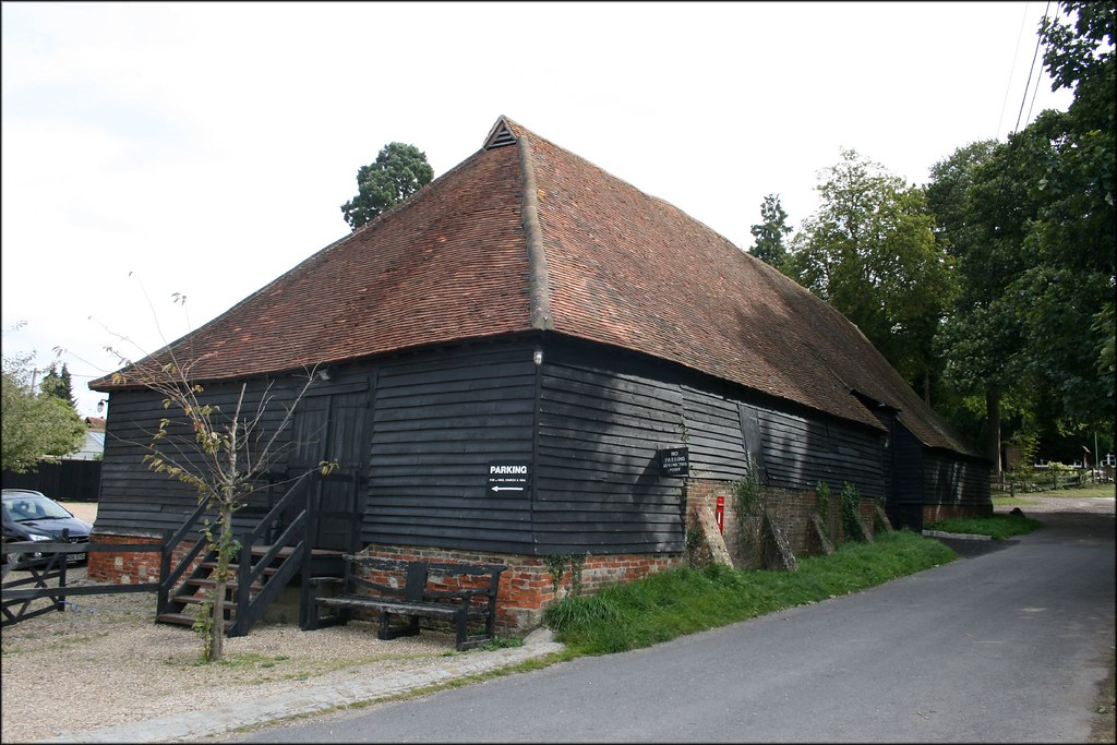 Great Barn, Wanborough This barn was built in 1388 and is occasionally open to the public.