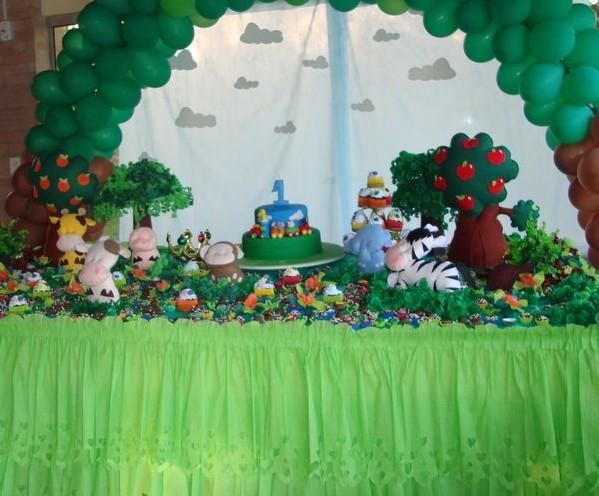 Decoração de festa infantil - Tema Floresta