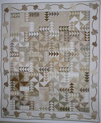 Stone Cutter's Folly or Falling Leaves by Quilting Up A Creek by Carolyn Hughey