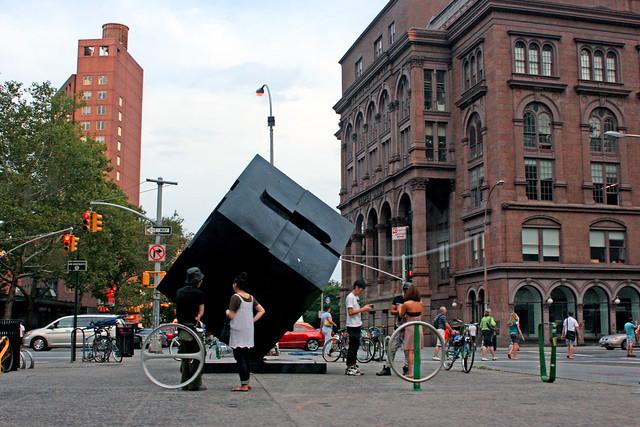 The Cube at St. Mark's Place, NY