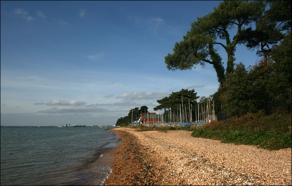 The Solent near Netley