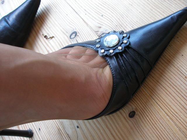 Nylon Toe Cleavage 23
