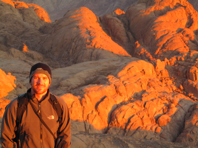 Mount Sinai Summit at sunrise - Egypt