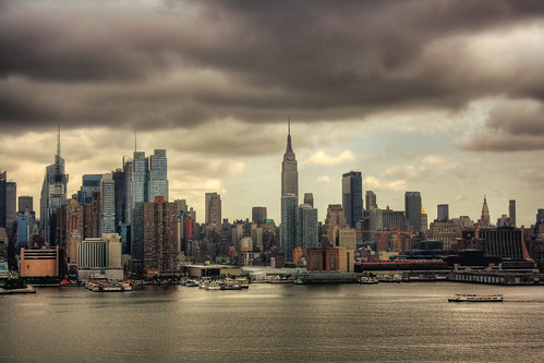 New York City - Manhattan Skyline 01