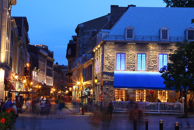 Old Montreal - Flickr CC nissanman2009