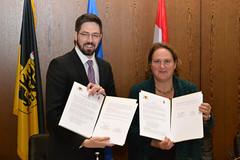 Baden-Württemberg und Ungarn bauen Zusammenarbeit aus
