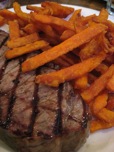 Steak & Sweet Potato Frites