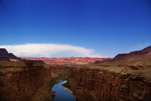 voyage travel blue arizona sky usa river colorado canyon bleu page marble marblecanyon pfala
