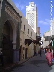 Medina de Fes em Marrocos