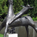 Washington DC - Hirshorn Museum and Sculpture Garden - Horse and Rider by Marino Marini