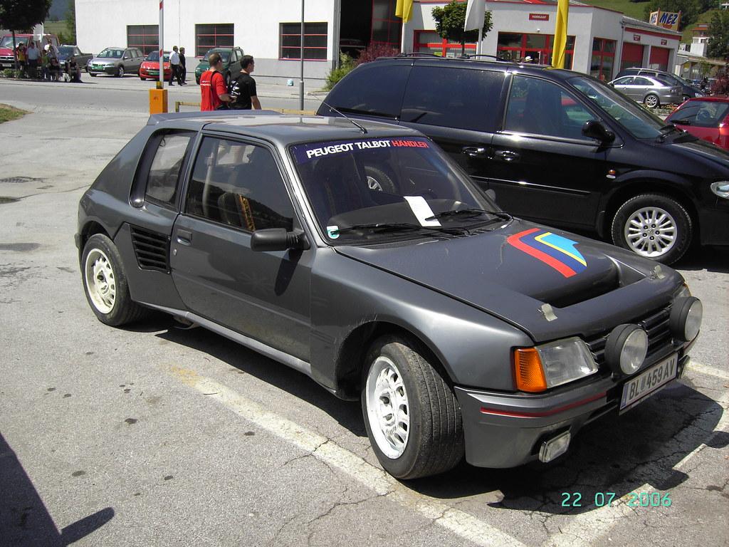 peugeot 205 turbo 16 | der 205 turbo 16 war ein für die grup… | flickr