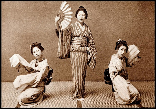 MORE DANCING GIRLS in OLD JAPAN