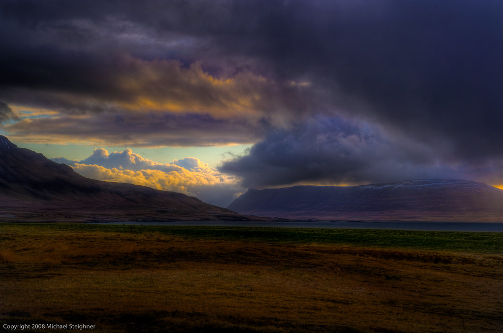 Waiting for the God Beams in Iceland (and getting a clearer picture of the future) by MDSimages.com