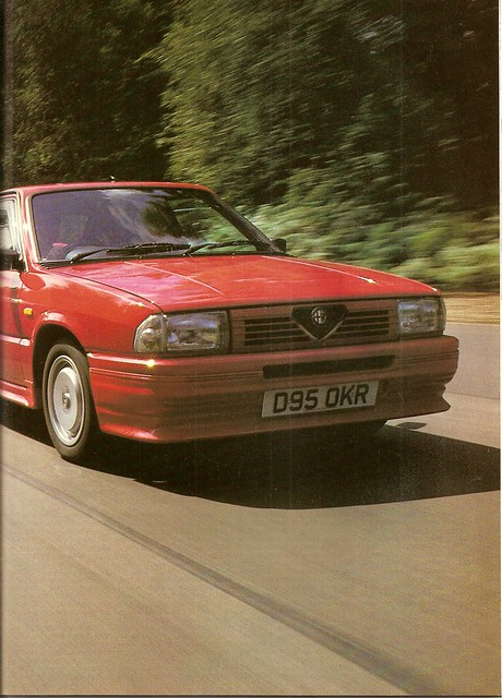 Alfa Romeo 33 1.7 Veloces vesus rivals group test 1987 (2) | Flickr ...