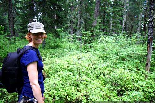 kat walking through huckleberry fields forever    MG 0224