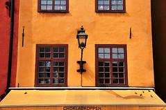 Windows at Stortorget - Stockholm