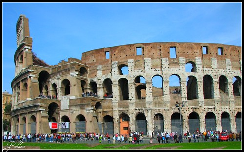 Coliseum of Rome..EXPLORE