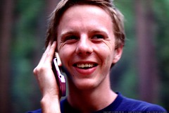 sam said he was embarrassed to own a pink cell phone…