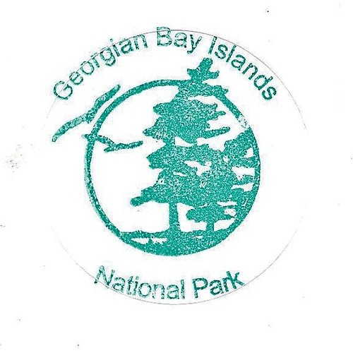 Georgian Bay Islands National Park Map Georgian Bay Islands National