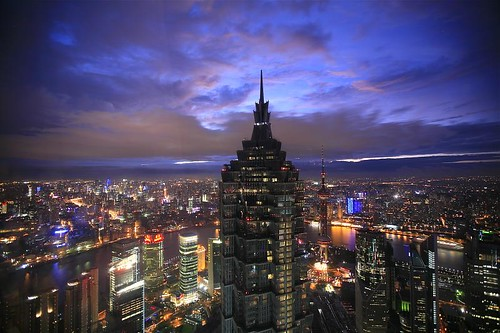 Shanghai Blue Hour - Go China, Go EXPO!!!