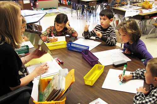 First grade reading - small group breakout