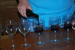 wine glass, wine, drinkware, stemware, cobalt blue, glass, red wine, champagne stemware, drink, alcoholic beverage,