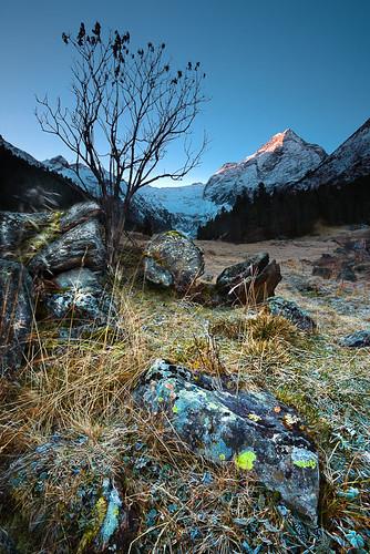 autumn alps fall sunrise landscape tirol österreich herbst alpen landschaft sonnenaufgang tyrol lüsens stubaieralpen sellraintal lüsenerfernerkogel christofsimon innsbruckundseineferiendörfer lüsenstal bergtal