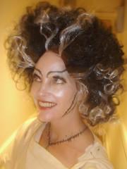 black hair, face, hairstyle, ringlet, hair, blond, hair coloring, eyebrow,