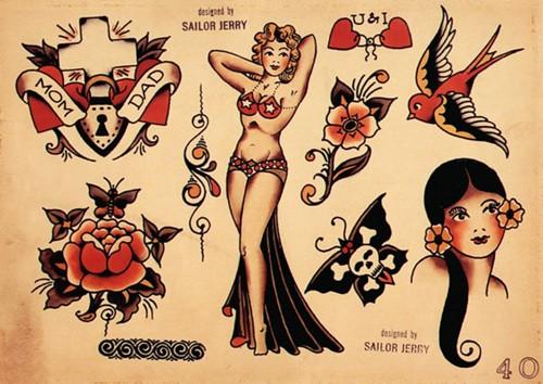 現代刺青之父 Sailor Jerry:結合東西方藝術,引領美式 Old School 水手刺青文化13