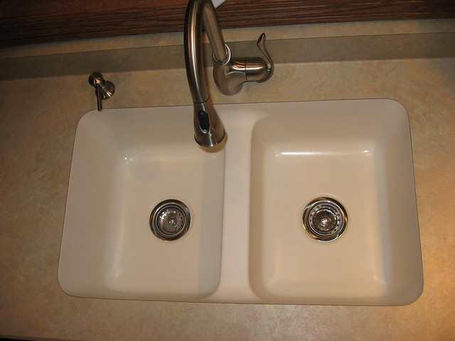 Acrylic Kitchen Sink Single Basin