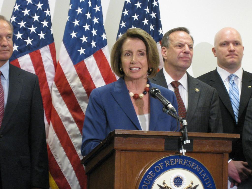 Speaker Nancy Pelosi At Press Conference
