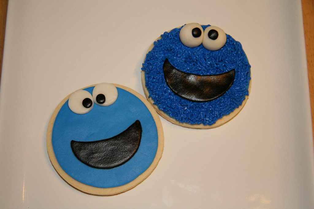 Cookie Monster Cookies