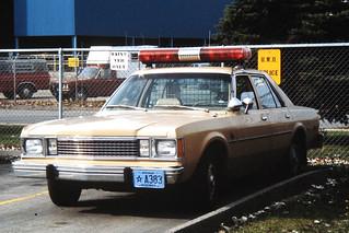 UWOPD 1980 Plymouth Volare
