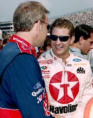 Team Mates, Dale Jarrett and Kenny Irwin Jr: NASCAR Photography By Darryl Moran