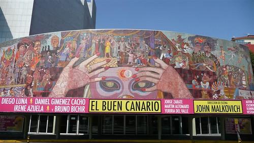 Urbanstep teatro de los insurgentes for El mural de mosaicos