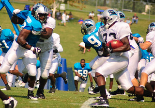 Running the ball