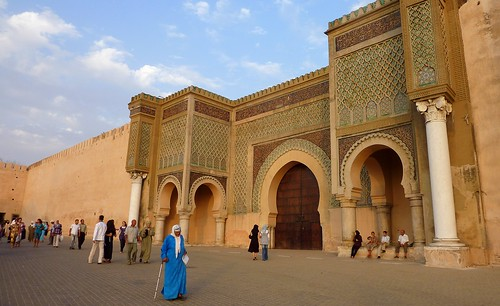 Bab Mansour in Meknes , Morocco (Unesco world heritage)