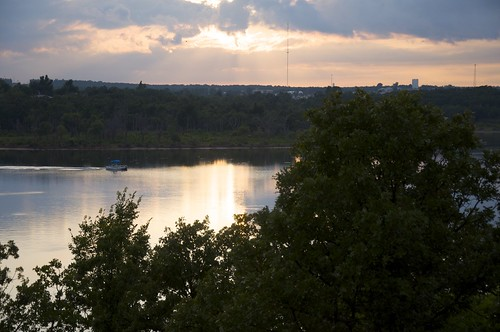 sunset lake oklahoma raw keystone tulsa d90 mannford