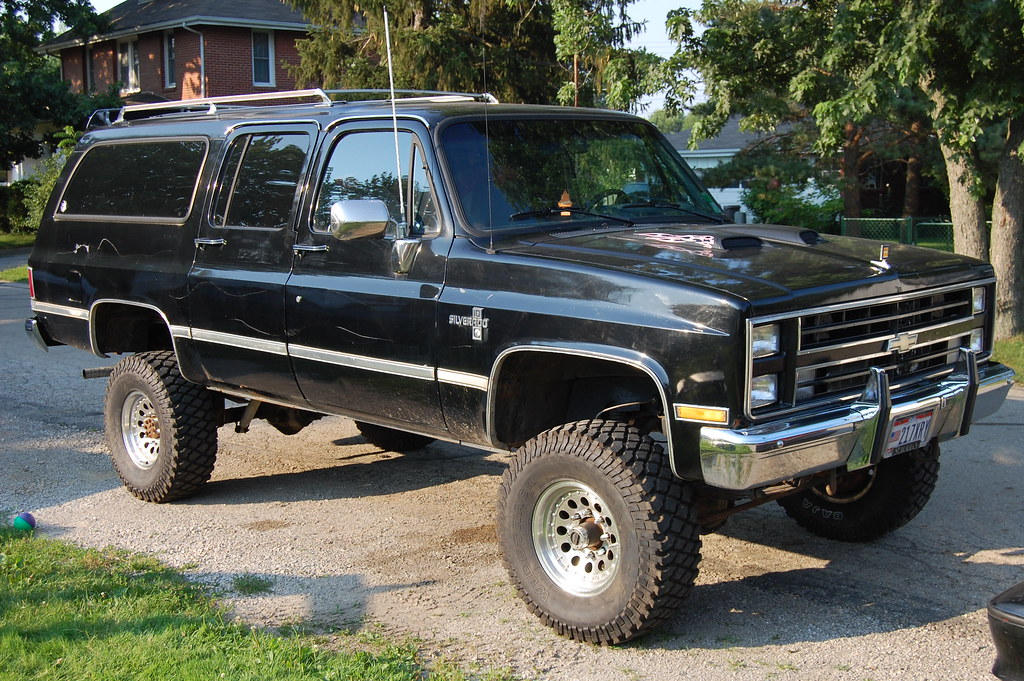 How Will My Square Body Look With XX Lift and XX Tires?   GM Square ...
