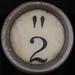 "typewriter key "" 2"