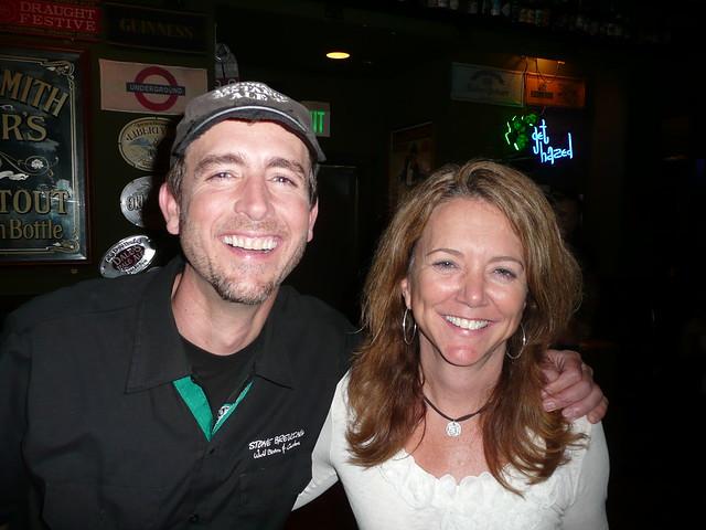 Greg Koch & Kim Jordan, from New Belgium